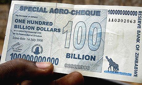 Mata Uang Zimbabwe